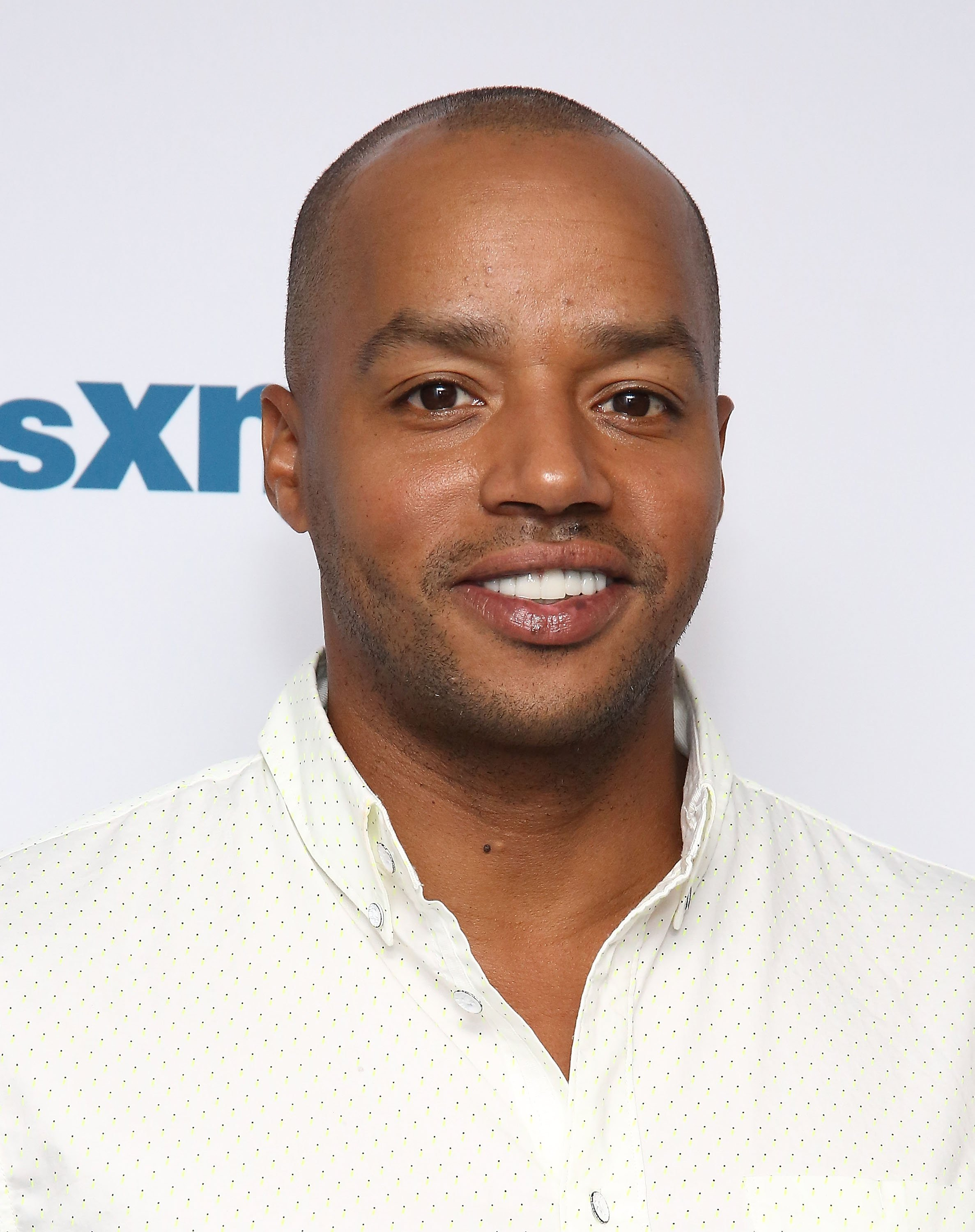 Donald Faison visits the SiriusXM Studios on June 6, 2016 in New York City | Photo: Getty Images