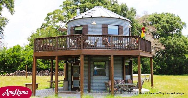 Un ancien silo transformé en une magnifique maison abordable pour deux