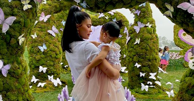 Kylie Jenner's Daughter Stormi Looks Angelic in Tutu Dress at Kylie Cosmetics Stormi Collection Launch
