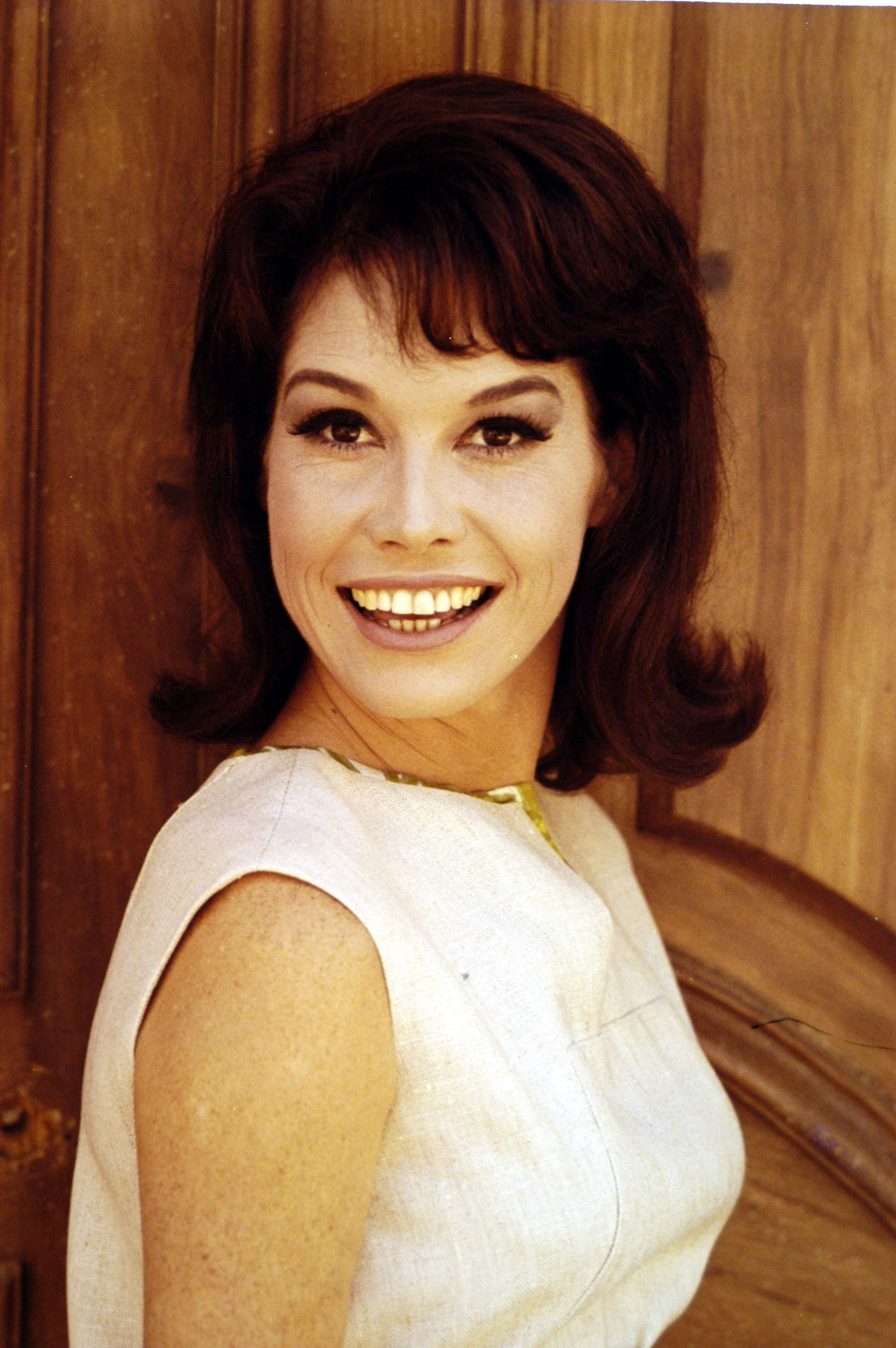 A portrait of actress Mary Tyler Moore.   Source: Getty Images