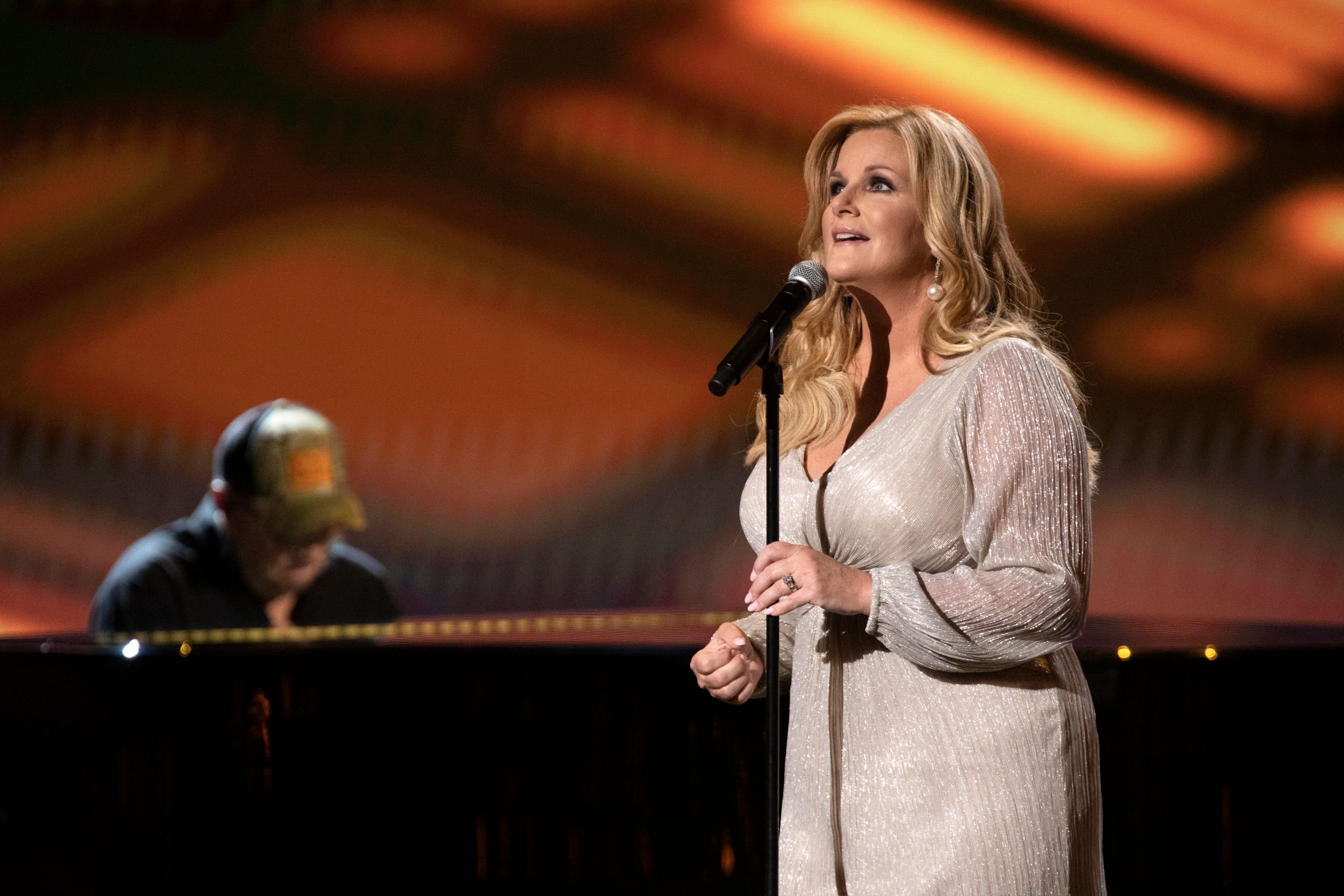 Trisha Yearwood at the 55th Academy of Country Music Awards in 2020 in Nashville, Tennessee | Photo: Getty Images