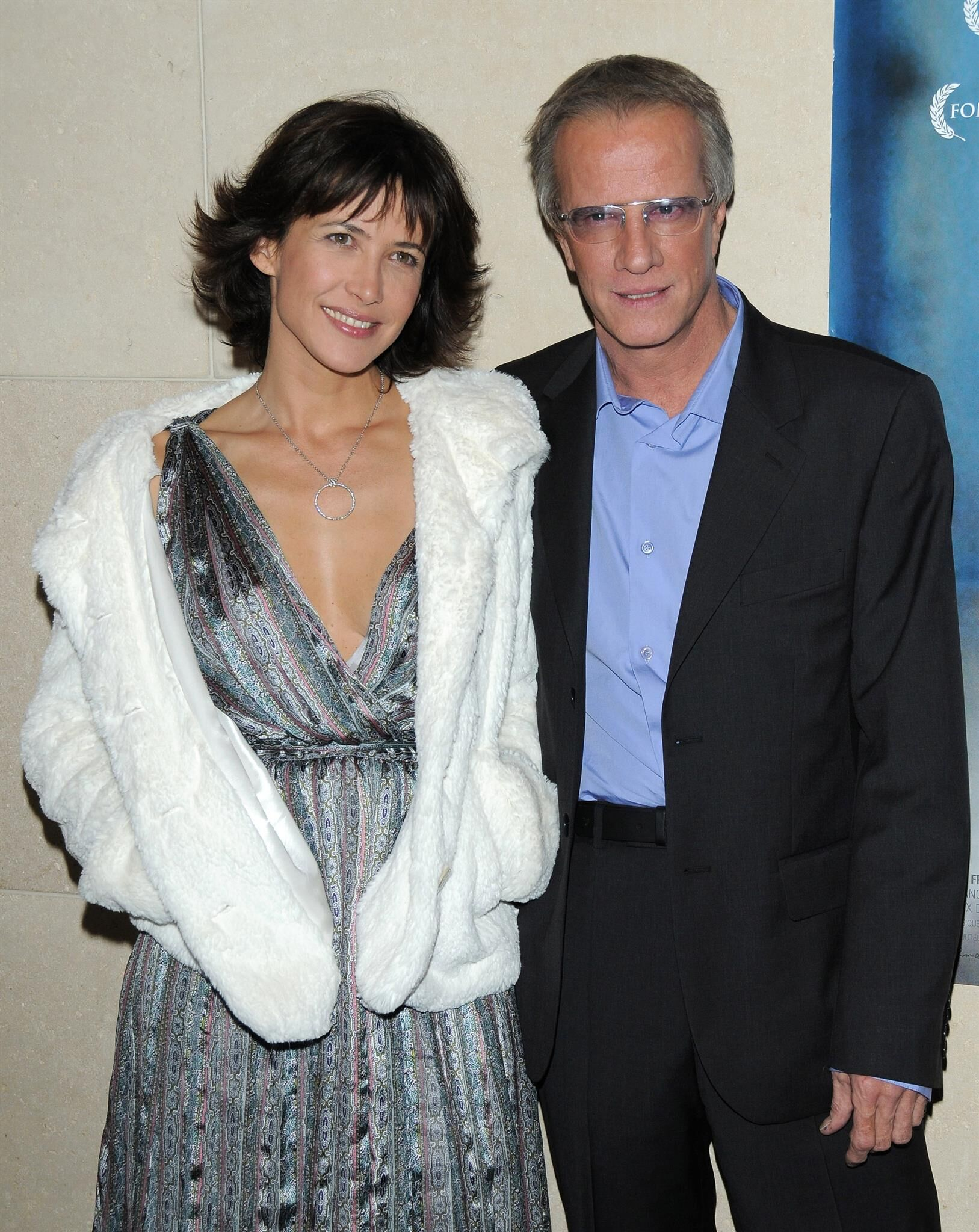 Sophie Marceau et Christophe Lambert. l Source : Getty Images