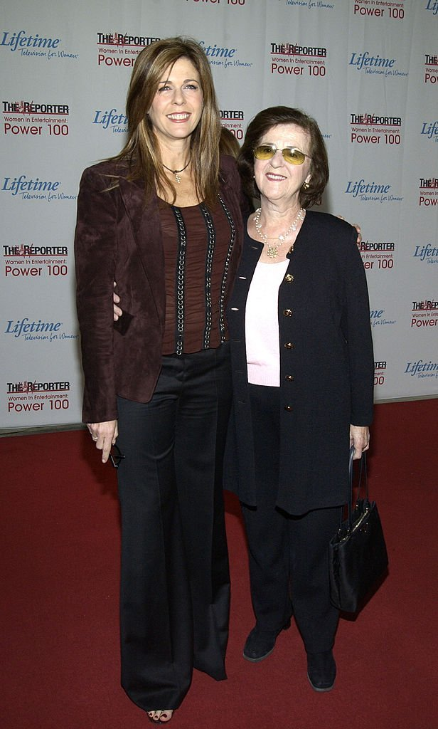 Rita Wilson and mother Dorothy Wilson at the Hollywood Reporters' Annual Women In Entertainment on December 3, 2002   Photo: GettyImages
