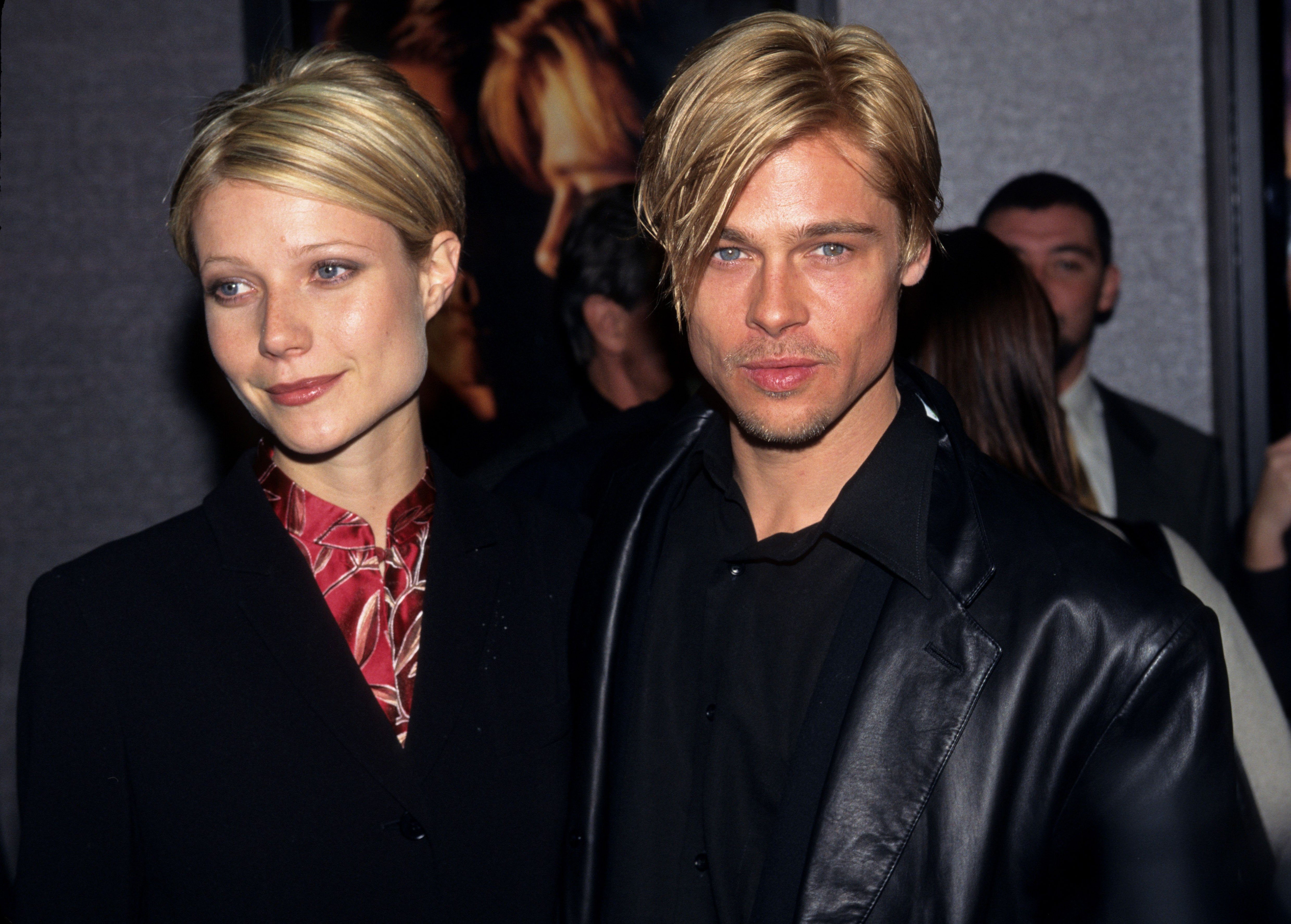 A portrait of actress Gwyneth Paltrow and actor Brad Pitt Source | Photo: Getty Images