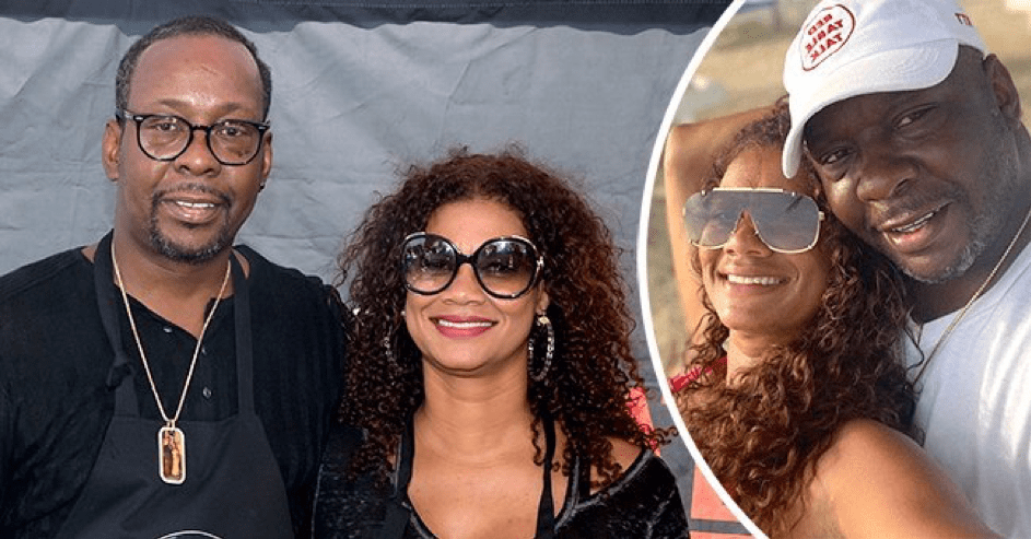 Bobby Brown seine Frau wife Alicia Etheredge. | Quelle: Instagram.com/aliciaetheredgebrown - Getty Images