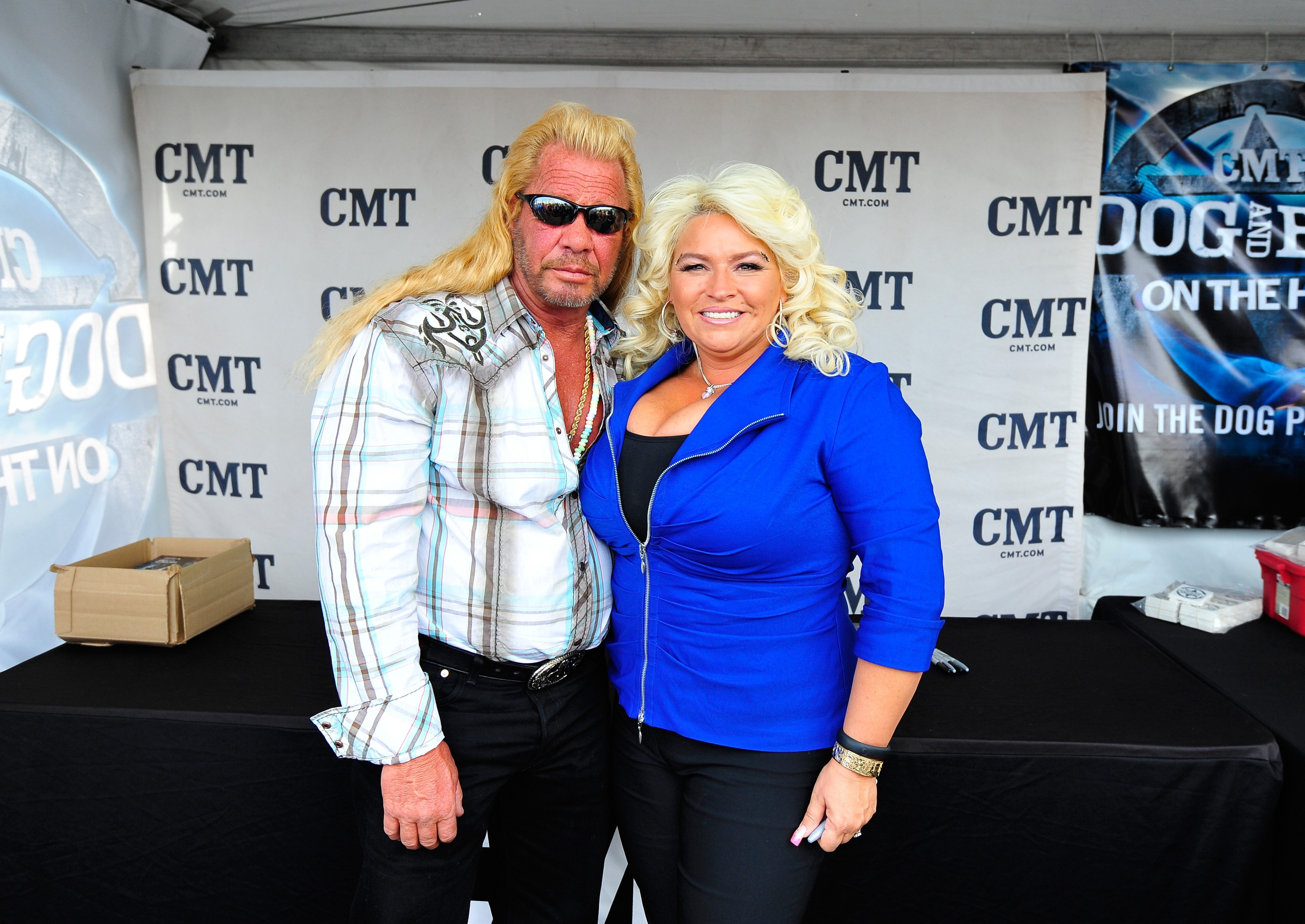 """Duane """"Dog"""" and Beth Chapman at the ACM Experience during the 48th Annual Academy of Country Music Awards at the Orleans Arena on April 5, 2013 in Las Vegas, Nevada 