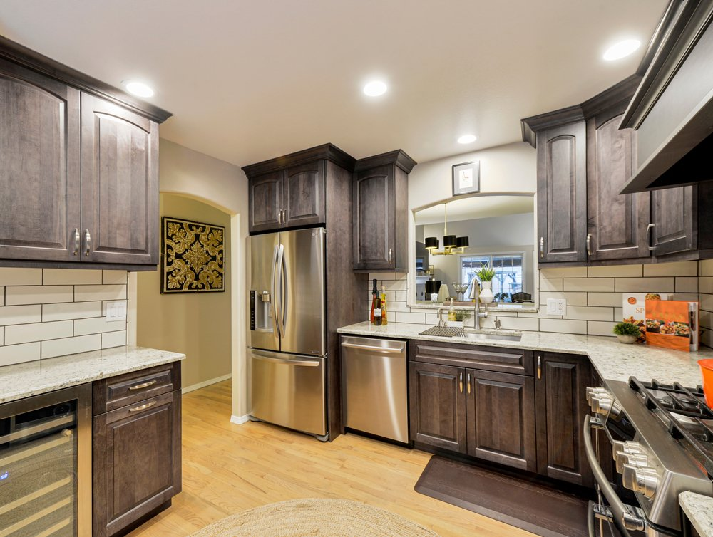 A photo of a modern kitchen space. | Photo: Shutterstock