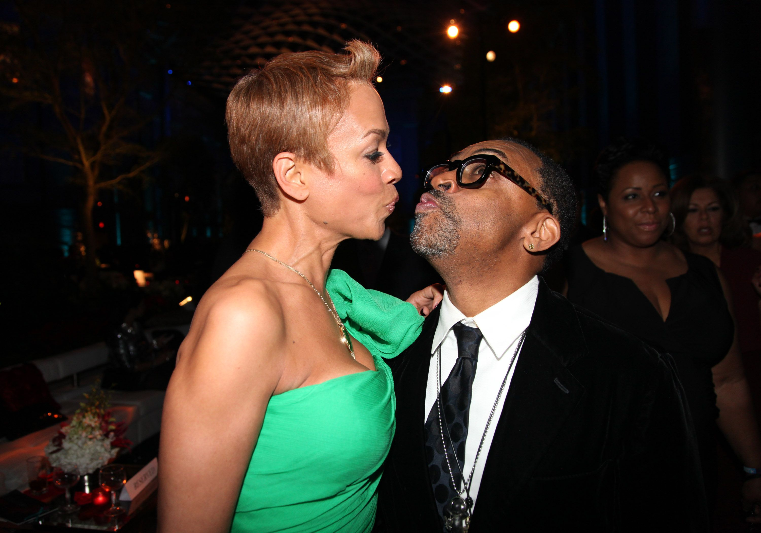 Tonya Lewis Lee and Spike Lee at the after party for BET Honors 2012 in Washington, DC   Source: Getty Images