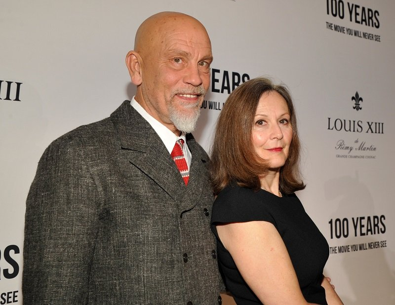 John Malkovich and Nicoletta Peyran on November 18, 2015 in Beverly Hills, California | Photo: Getty Images