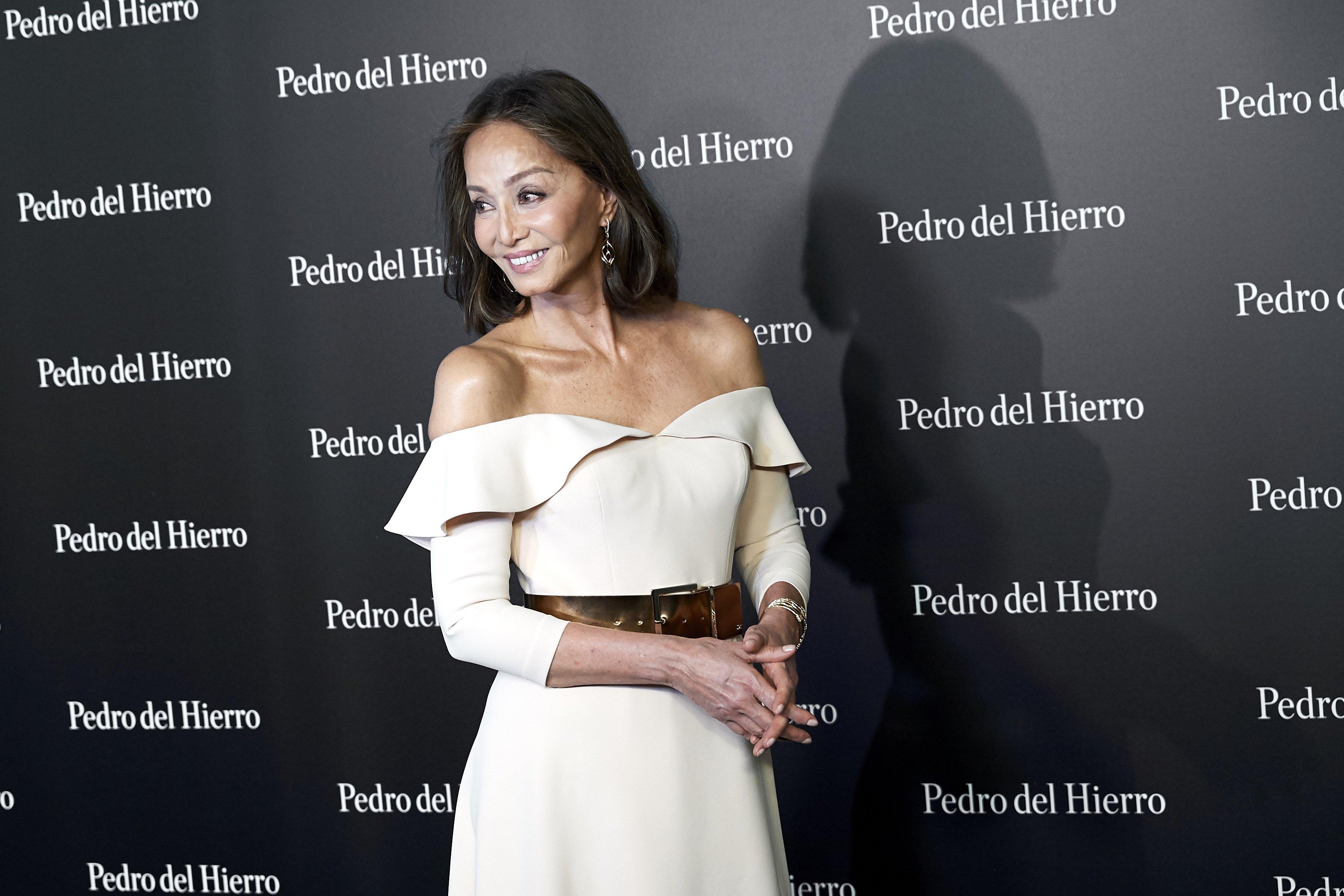 Isabel Preysler en el debut de la colección de Pedro del Hierro    Fuente: Getty Images