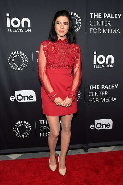 Cindy Sampson at The Paley Center for Media on February 7, 2018 | Photo: Getty Images