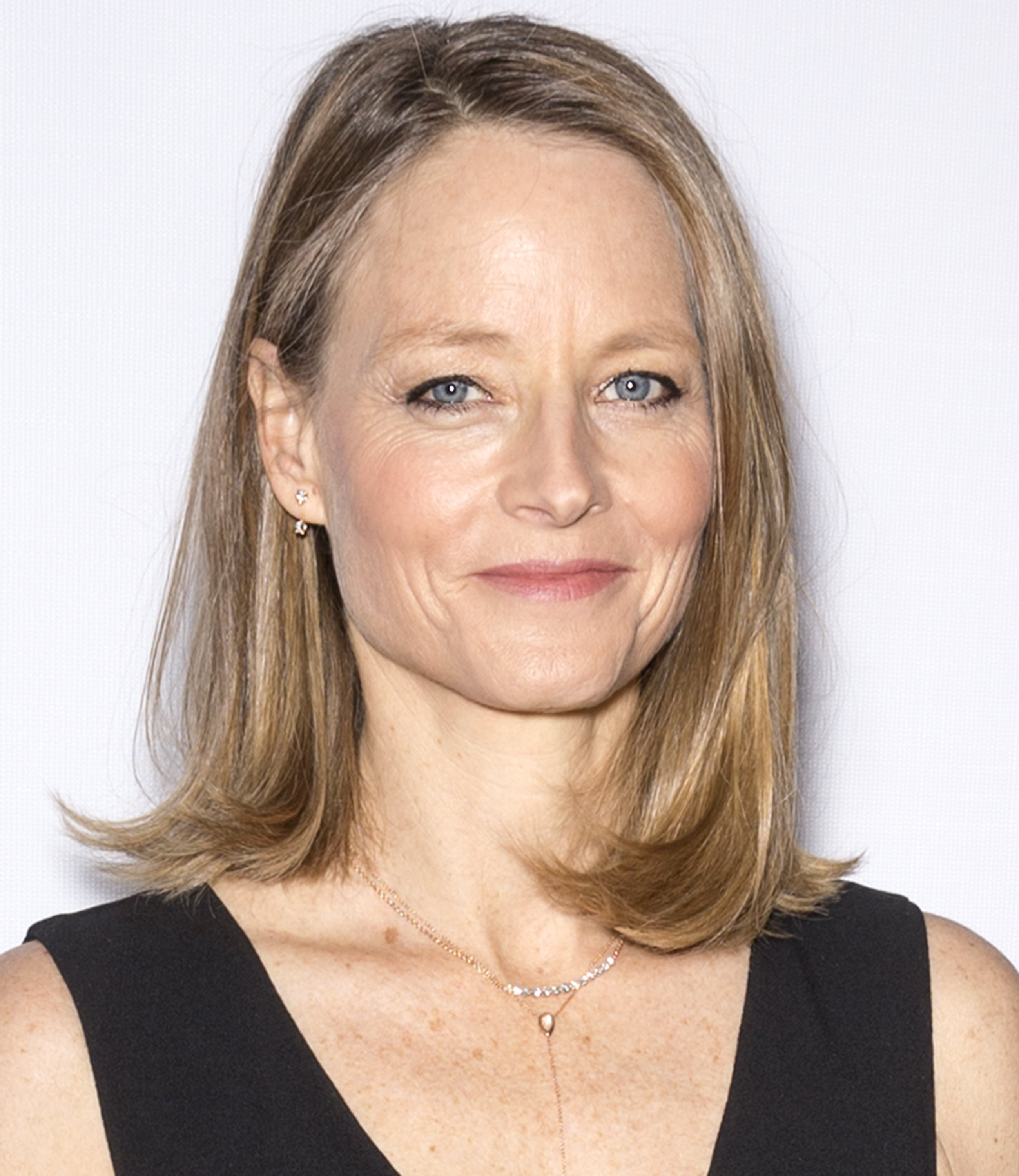 """Jodie Foster at the """"Hotel Artemis"""" premiere in Hollywood, May 2018.   Photo: Shutterstock."""