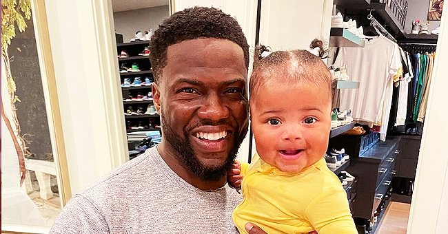 See Kevin Hart's Unparalleled Likeness to Baby Kaori Mai as He Holds Her in a Yellow Onesie