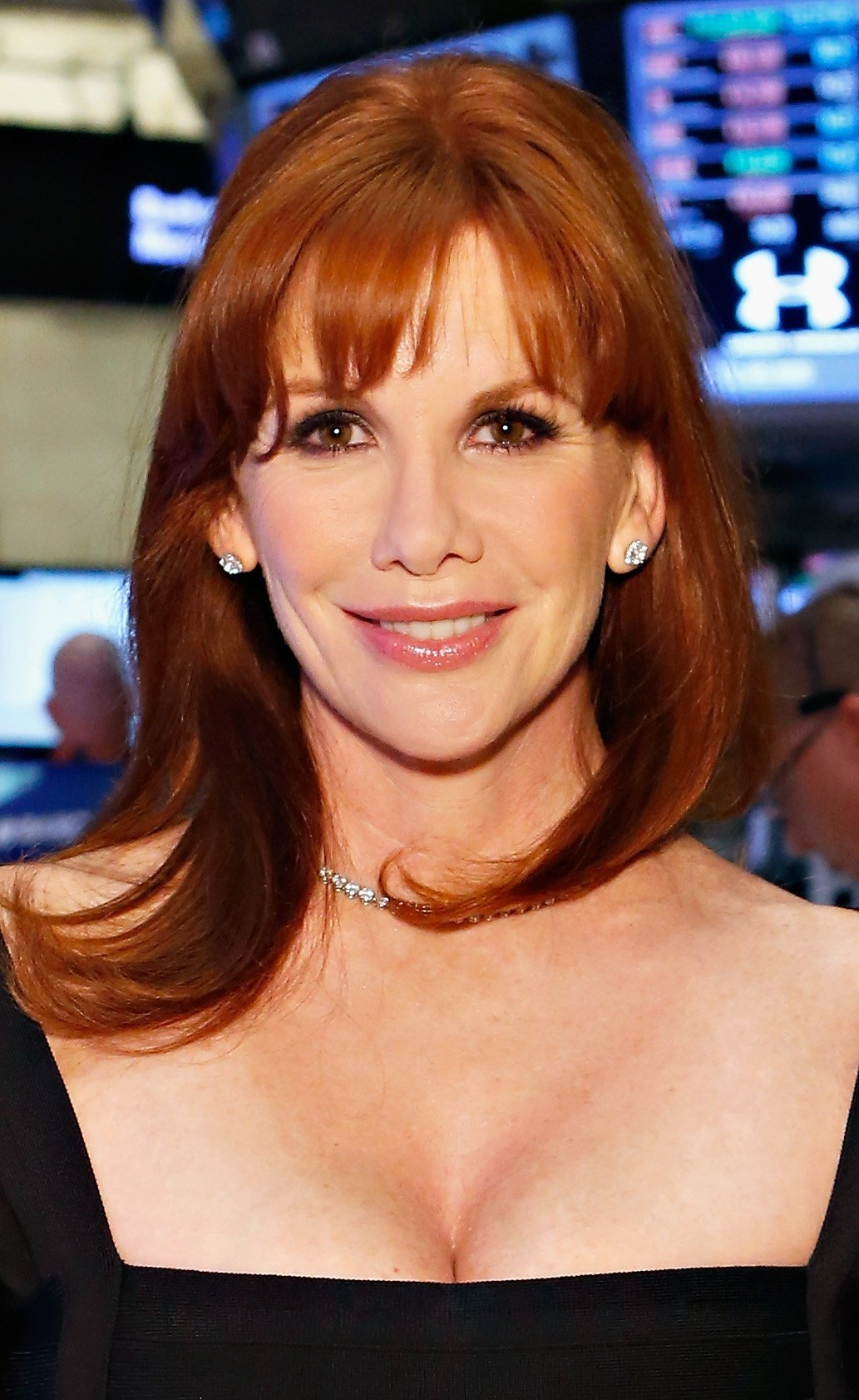 Melissa Gilbert at the New York Stock Exchange on September 25, 2012 in New York City. | Source: Getty Images