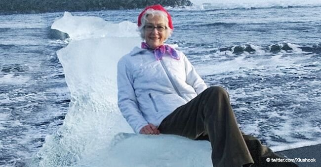 Iceberg Queen: Elderly Woman Drifted out to Sea after Posing Dangerously on an 'Ice Throne'