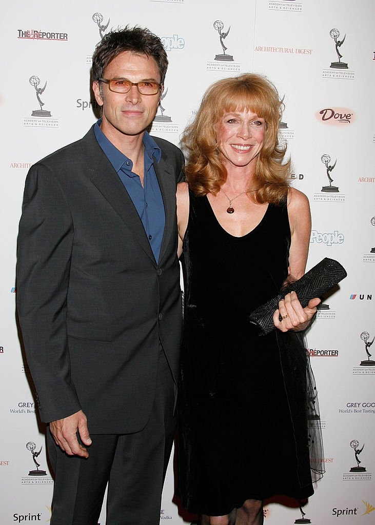 Tim Daly and Amy Van Nostrand at the 59th Primetime Emmy Awards Nominees Reception on September 14, 2007 | Photo: Getty Images