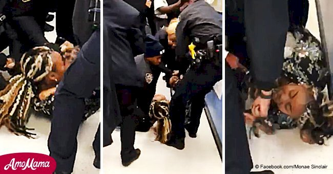 Horrific video shows NYPD officers pulling toddler out of his mother's arms