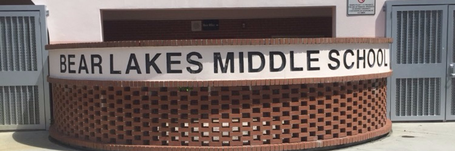 Bear Lakes Middle School, in West Palm Beach, Florida. Source: Twitter/bearlakesmiddle