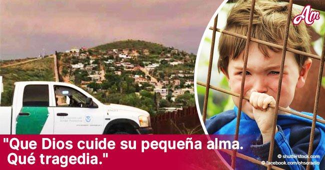 Niña de 7 años muere por deshidratación en la frontera entre EEUU y México