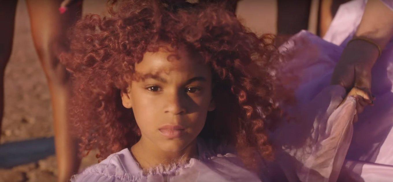 "Blue Ivy appears in Mom Beyoncé's ""Spirit"" music video l Source: YouTube l Beyoncé l ""Spirit"" + ""Bigger"" extended cut from Disney's ""The Lion King"""