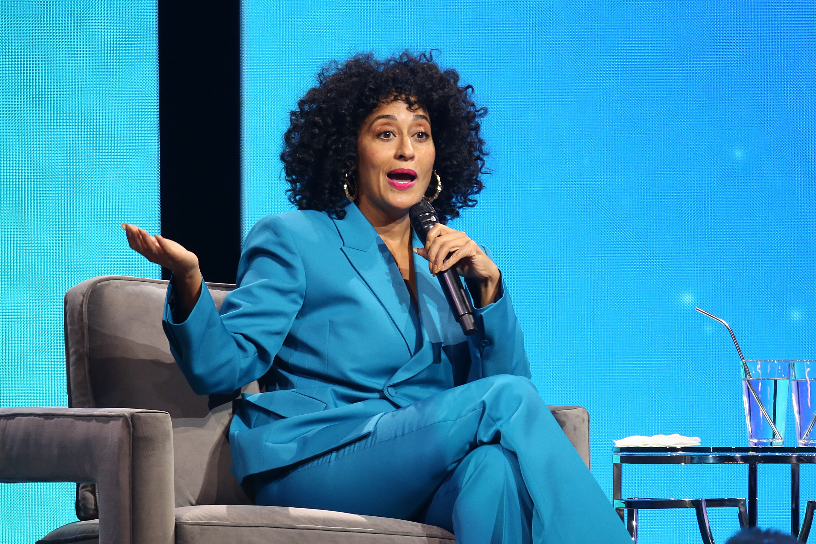 Tracee Ellis Ross at the Oprah 2020 Vision Tour at Dallas Texas | Source: Getty Images/GlobalImagsUkraine