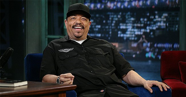 Ice-T's Daughter Chanel Kisses Her Father on Stage Sitting on Her Older Brother's Shoulders in Rare Family Photo