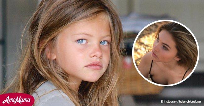 La plus belle fille française a grandi: aujourd'hui elle est complètement différente