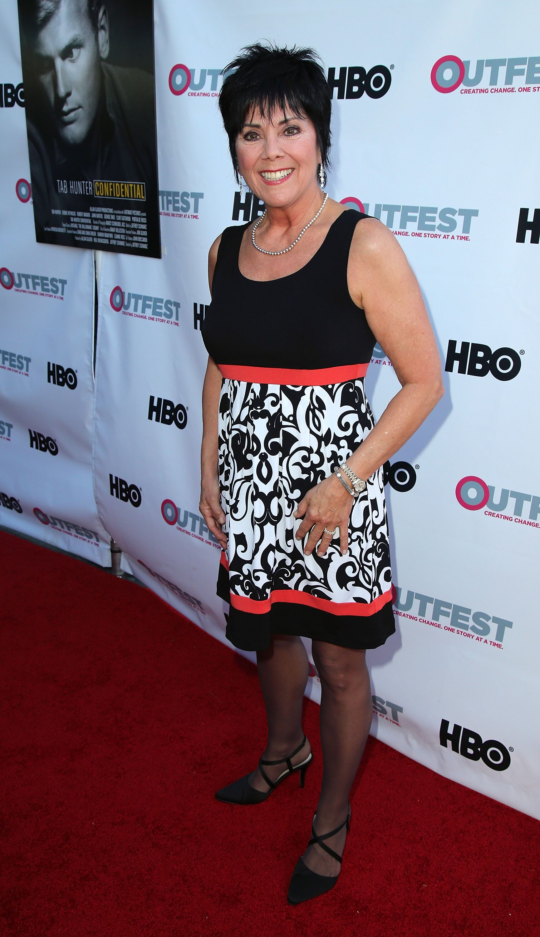 """Joyce DeWitt attends a screening of """"Tab Hunter Confidential"""" at the 2015 Outfest's LGBT Los Angeles Film Festival  