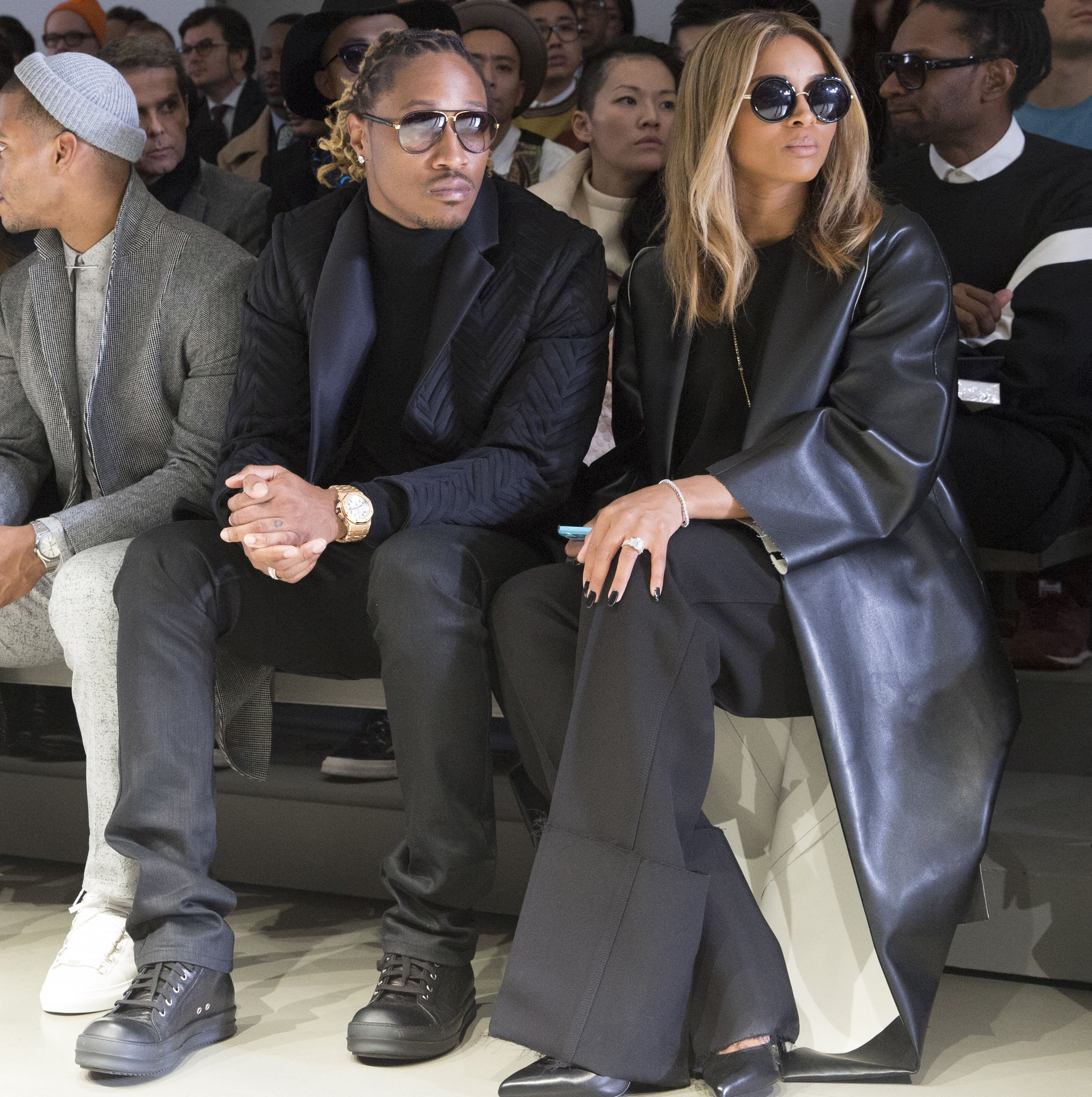 (Before the split) Future & Ciara at the Milan Fashion Week in Milan, Italy on Jan. 12, 2014. | Photo: Getty Images