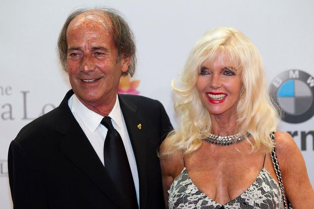 Luis Ortiz y Gunilla Von Bismarck asisten a la Global Gift Gala 2012 el 19 de agosto de 2012 en Marbella, España. | Foto: Getty Images