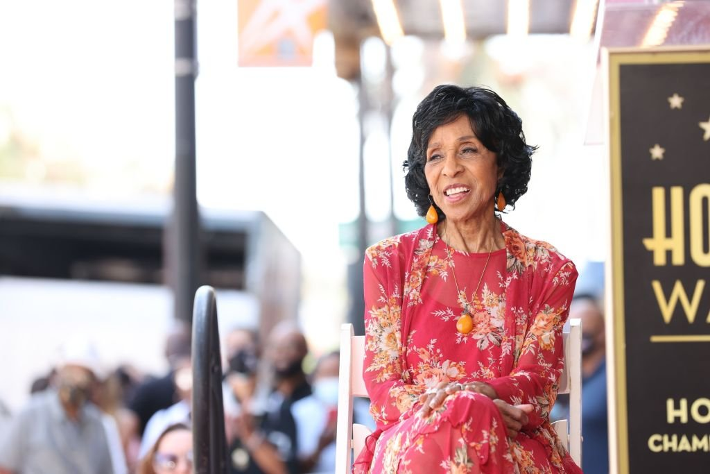 Marla Gibbs at her Hollywood Walk of Fame Star Ceremony, July 2021 | Source: Getty Images