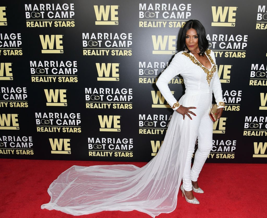 "Momma Dee attends the premiere of WE tv's ""Marriage Boot Camp Reality Stars"" at HYDE Sunset: Kitchen + Cocktails on August 28, 2018. 