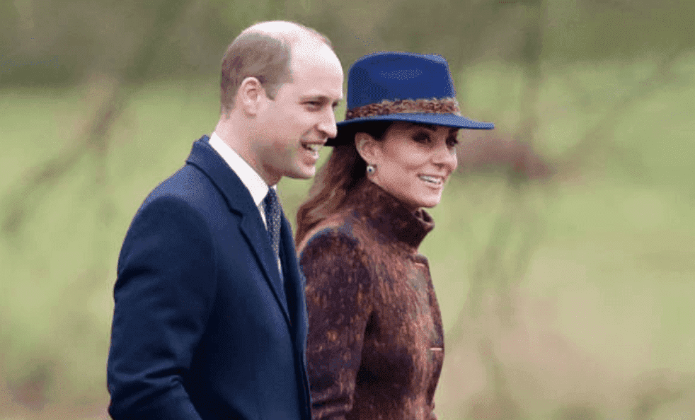 Prince William and Kate Middleton greet crowds as they make their way to the Sunday service at the Church of St Mary Magdalene, on the Sandringham estate, on January 5, 2020, in King's Lynn, England | Source: Max Mumby/Indigo/Getty Images