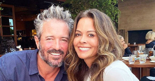 Closer Weekly: Brooke Burke Created Intimate Date Nights during Quarantine with Scott Rigsby