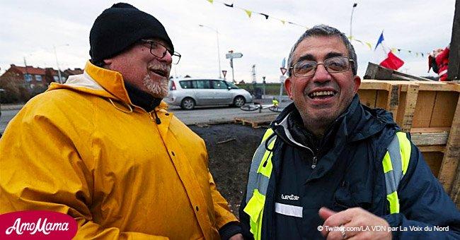 Un prêtre a trouvé un moyen de soutenir le mouvement des Gilets jaunes pour Noël