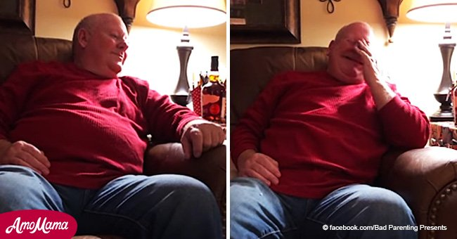 Grandfather tears up after hearing his granddaughter sing a song he wrote in the '80s