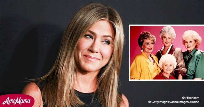 Jennifer Aniston reveals plans for 'Golden Girls' remake and which character she wants to play