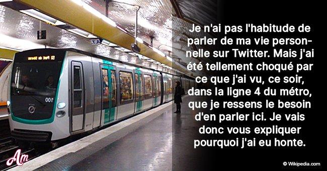 Des gilets jaunes se sont montrés agressifs envers une femme dans le métro de Paris: un témoin raconte ce qui s'est passé