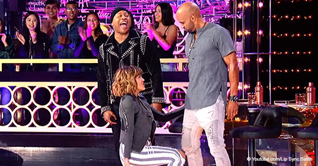 Boris Kodjoe's wife Nicole flirts hard with husband in 'Lip Sync Battle' preview