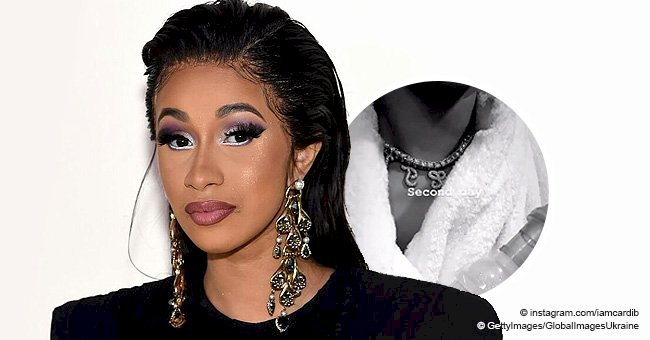 Cardi B cradles daughter Kulture who is hooked up to a breathing mask in recent clip
