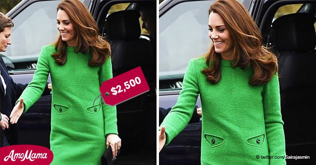 'World's angriest dress': how Kate Middleton's green gown was described by an eagle-eyed fan