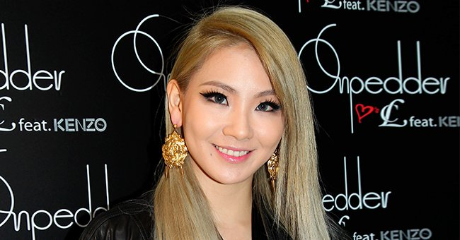 CL at a commercial activity on March 21,2014 in Hong Kong.   Photo: Getty Images