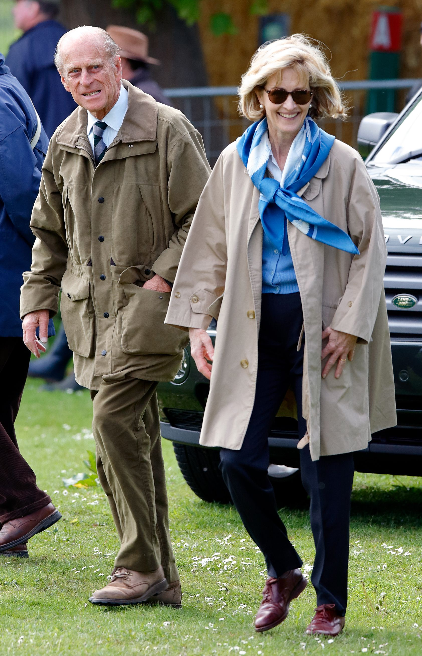 Prince Philip and Penelope Knatchbull, Lady Brabourne at day 3 of the Royal Windsor Horse Show in Home Park on May 12, 2007 | Photo: Getty Images