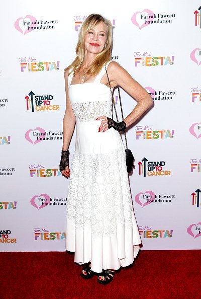 Melanie Griffith attends the Farrah Fawcett Foundation's Tex-Mex Fiesta at Wallis Annenberg Center for the Performing Arts  in Beverly Hills   Photo: Getty Images