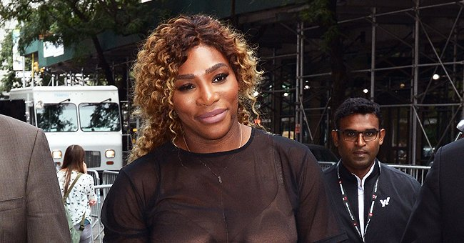 Serena Williams' Daughter Olympia Flashes Charming Smile While Lying On Her Dog in a Cute Photo