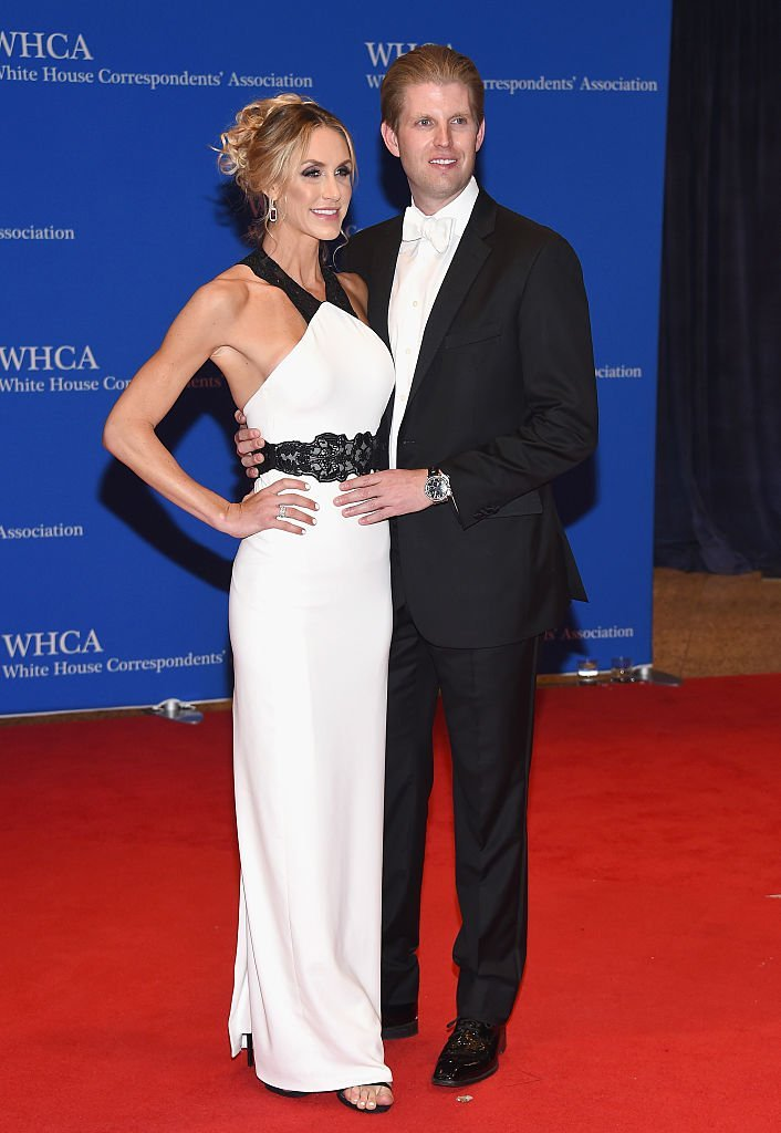 Lara and Eric Trump attend the 102nd White House Correspondents' Association Dinner. | Source: Getty Images