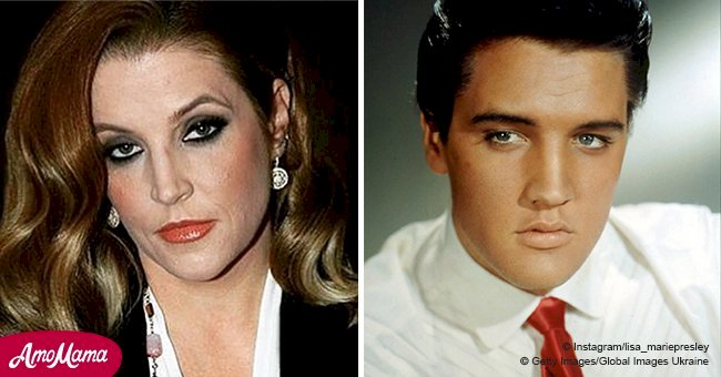 Elvis Presley's daughter recorded wonderful duets with her father