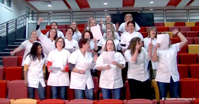 Valence : les médecins parlent des dures conditions de travail en faisant leur propre chanson après la grève