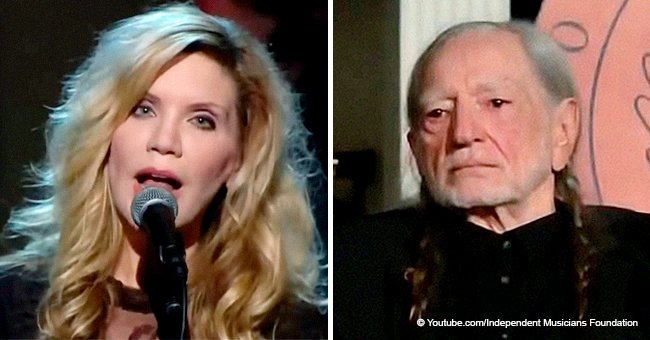 Alison Krauss' Angelic Rendition of 'Seven Spanish Angels' Almost Brought Willie Nelson to Tears