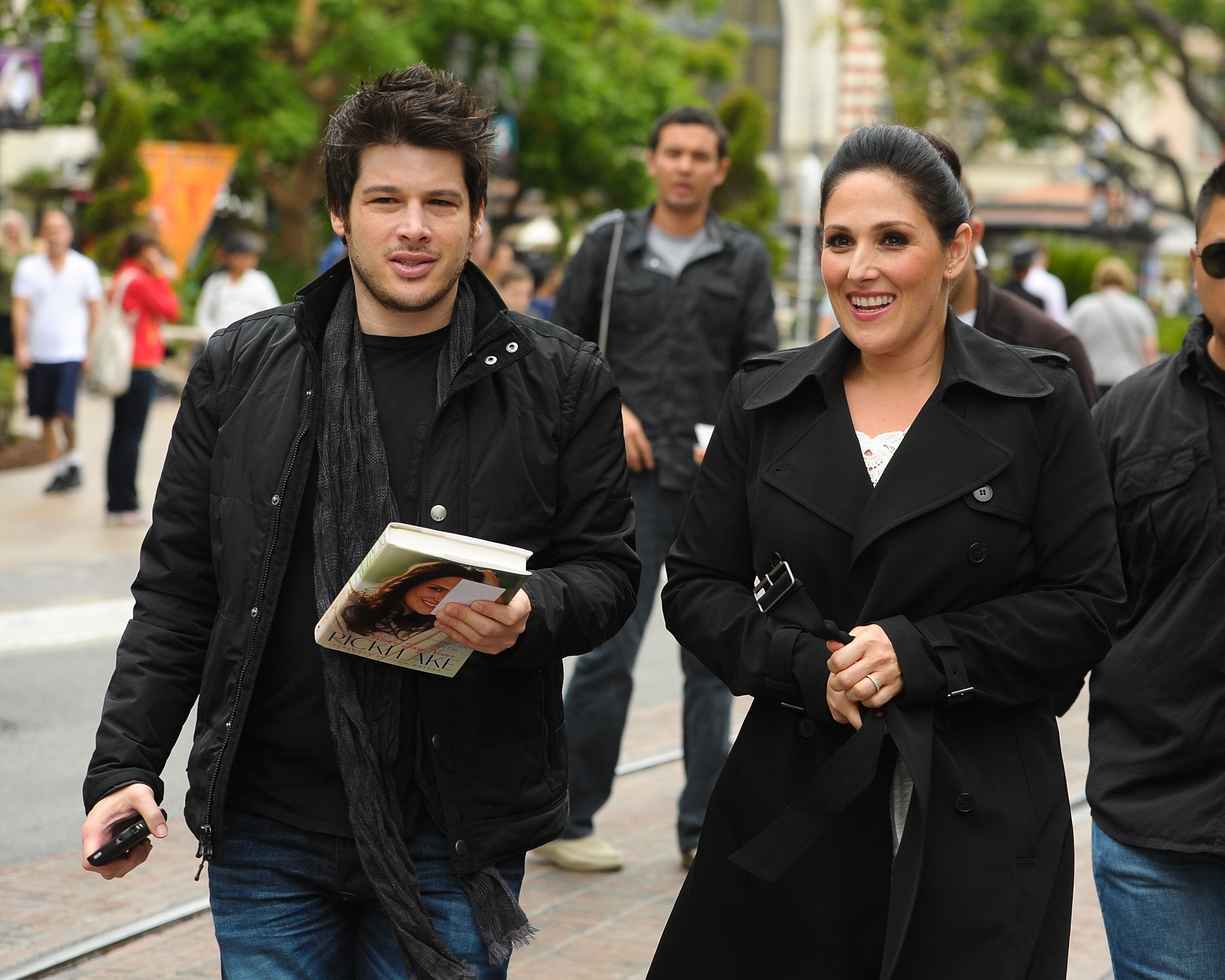 Ricki Lake and Christian Evans are sighted at The Grove on April 23, 2012 in Los Angeles, California | Photo: Getty Images